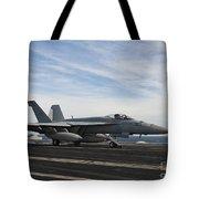 An Fa-18f Super Hornet Takes Tote Bag