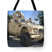 An Oshkosh M-atv Mine Resistant Ambush Tote Bag