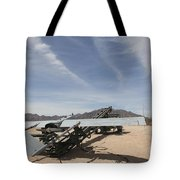 An Rq-7 Shadow Unmanned Aerial Vehicle Tote Bag