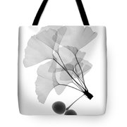 An X-ray Of Ginko Leaves Tote Bag