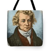 Andre Marie Amp�re, French Physicist Tote Bag