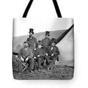 Antietam: Officials, 1862 Tote Bag