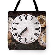 Antique Clocks Tote Bag by Elena Elisseeva