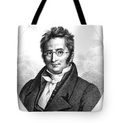A.p. De Candolle, Swiss Botanist Tote Bag by Science Source