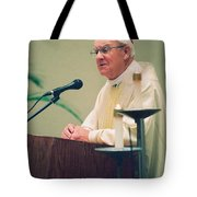 Archbishop Raymond Hunthausen Tote Bag