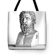 Aristophanes (c450-c388 B.c.) Tote Bag by Granger