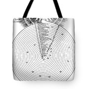 Aristotlelian And Christian Cosmologies Tote Bag