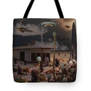 Artists Concept Of A Science Fiction Tote Bag