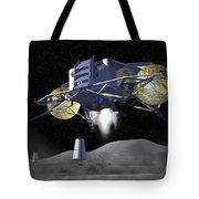 Artists Rendering Of Future Space Tote Bag