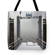 Ascona With Snow Tote Bag