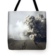 Ash Cloud Following Explosive Vulcanian Tote Bag