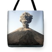 Ash Cloud From Vulcanian Eruption Tote Bag