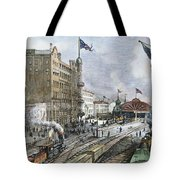 Atlanta, Georgia, 1887 Tote Bag