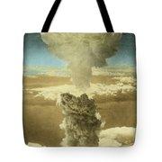Atomic Bombing Of Nagasaki Tote Bag by Omikron