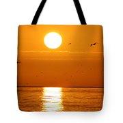 Auburn Sky Tote Bag