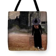 Autumn Witch Tote Bag