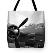 B25 Bomber Tote Bag