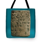 Babylonian Clay Tablet Tote Bag