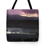 Badwater Basin Death Valley National Park Tote Bag