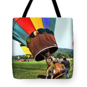 Balloonist - Ready For Takeoff Tote Bag