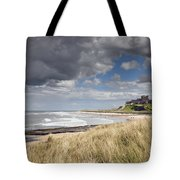 Bamburgh Castle Northumberland, England Tote Bag by John Short