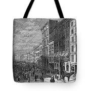 Bank Panic, 1873 Tote Bag