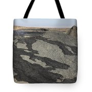 Basaltic Lava Flow From Pit Crater Tote Bag