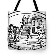 Baseball Game, 1820 Tote Bag by Granger