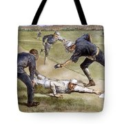 Baseball Game, 1885 Tote Bag by Granger