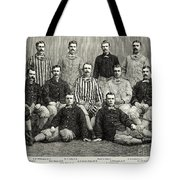 Baseball: White Stockings Tote Bag