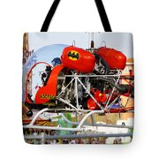 Batcopter Tote Bag