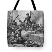 Battle Of Chapultepec, 1847 Tote Bag
