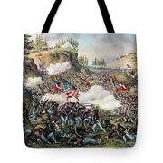Battle Of Chickamauga 1863 Tote Bag
