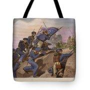 Battle Of Churubusco, 1847 Tote Bag