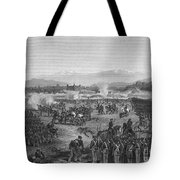 Battle Of Molino Del Rey Tote Bag