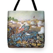 Battle Of Williamsburg Tote Bag