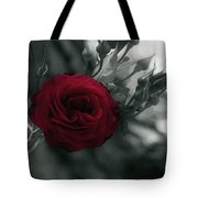 Red Rose Beauty Tote Bag