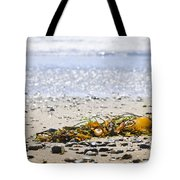 Beach Detail On Pacific Ocean Coast Tote Bag by Elena Elisseeva