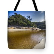 Beach Erosion Tote Bag