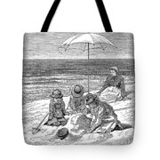 Beach Scene, 1879 Tote Bag