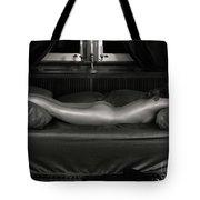 Beautiful Woman Sleeping Naked Tote Bag