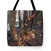 Beaver Marks Tote Bag