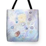 Beings Of Light Tote Bag by Judy M Watts-Rohanna