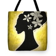 Bella Dama Tote Bag by Brandy Nicole Neal