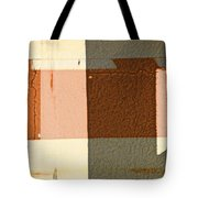 Bench Abstract Tote Bag