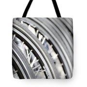 Bicycle Wheels Tote Bag