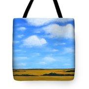 Big Sky Prairie Tote Bag by Holly Donohoe