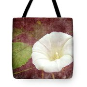 Bindweed - The Wild Perennial Morning Glory Tote Bag