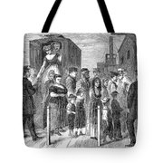 Blackwells Island, 1868 Tote Bag