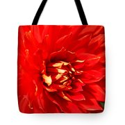 Blazing Red Tote Bag